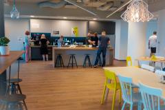 Social hub - to tutaj tętni życie naszej firmy.